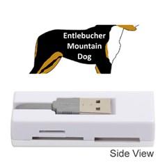Entlebucher Mt Dog Name Silo Color Memory Card Reader (Stick)