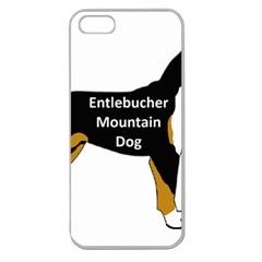Entlebucher Mt Dog Name Silo Color Apple Seamless iPhone 5 Case (Clear)