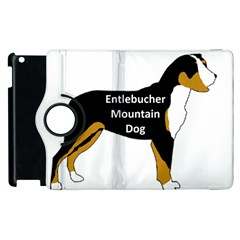 Entlebucher Mt Dog Name Silo Color Apple iPad 2 Flip 360 Case