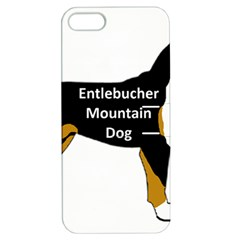 Entlebucher Mt Dog Name Silo Color Apple iPhone 5 Hardshell Case with Stand