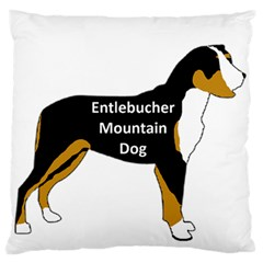 Entlebucher Mt Dog Name Silo Color Standard Flano Cushion Case (One Side)