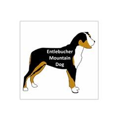 Entlebucher Mt Dog Name Silo Color Satin Bandana Scarf