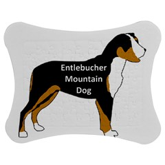 Entlebucher Mt Dog Name Silo Color Jigsaw Puzzle Photo Stand (Bow)
