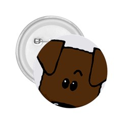Peeping Chocolate Lab 2.25  Buttons