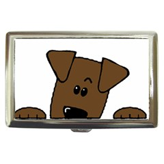 Peeping Chocolate Lab Cigarette Money Cases