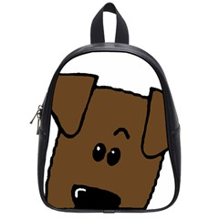 Peeping Chocolate Lab School Bags (Small)