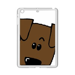 Peeping Chocolate Lab iPad Mini 2 Enamel Coated Cases