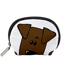 Peeping Chocolate Lab Accessory Pouches (Small)