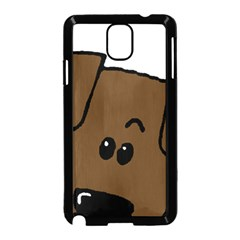 Peeping Chocolate Lab Samsung Galaxy Note 3 Neo Hardshell Case (Black)