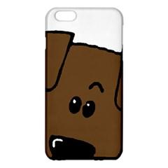 Peeping Chocolate Lab iPhone 6 Plus/6S Plus TPU Case