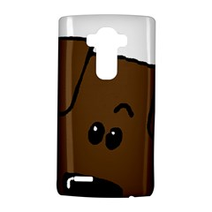 Peeping Chocolate Lab LG G4 Hardshell Case