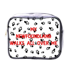My Newfie Walks On Me Mini Toiletries Bags