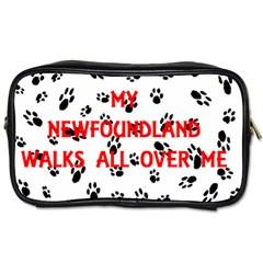 My Newfie Walks On Me Toiletries Bags 2-Side