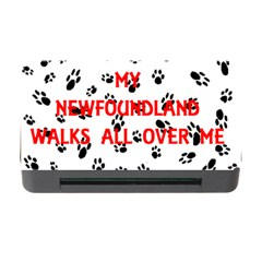 My Newfie Walks On Me Memory Card Reader with CF