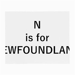 N Is For Newfoundland Small Glasses Cloth