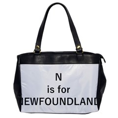 N Is For Newfoundland Office Handbags
