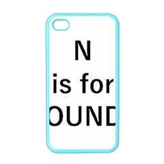 N Is For Newfoundland Apple iPhone 4 Case (Color)