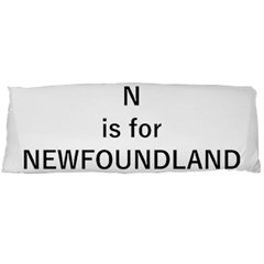 N Is For Newfoundland Body Pillow Case (Dakimakura)