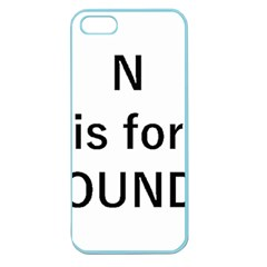 N Is For Newfoundland Apple Seamless iPhone 5 Case (Color)
