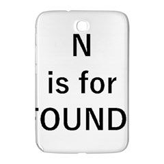 N Is For Newfoundland Samsung Galaxy Note 8.0 N5100 Hardshell Case