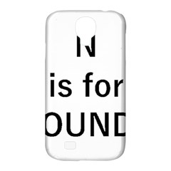N Is For Newfoundland Samsung Galaxy S4 Classic Hardshell Case (PC+Silicone)
