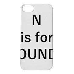 N Is For Newfoundland Apple iPhone 5S/ SE Hardshell Case