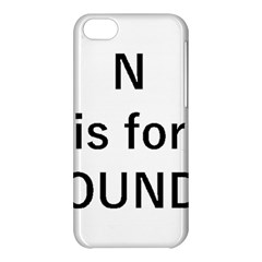 N Is For Newfoundland Apple Iphone 5c Hardshell Case