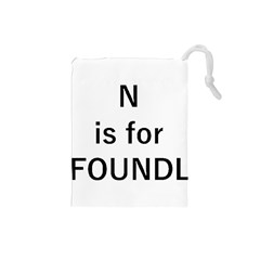 N Is For Newfoundland Drawstring Pouches (Small)