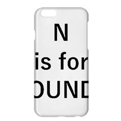 N Is For Newfoundland Apple Iphone 6 Plus/6s Plus Hardshell Case