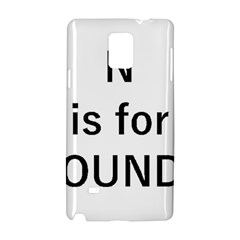 N Is For Newfoundland Samsung Galaxy Note 4 Hardshell Case