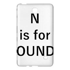 N Is For Newfoundland Samsung Galaxy Tab 4 (7 ) Hardshell Case