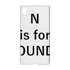 N Is For Newfoundland Sony Xperia Z3+