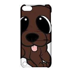 Newfie Brown Cartoon Apple iPod Touch 5 Hardshell Case with Stand
