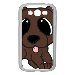 Newfie Brown Cartoon Samsung Galaxy Grand DUOS I9082 Case (White)