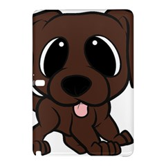 Newfie Brown Cartoon Samsung Galaxy Tab Pro 10.1 Hardshell Case