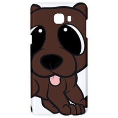 Newfie Brown Cartoon Samsung C9 Pro Hardshell Case