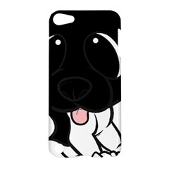 Newfie Cartoon Black White Apple iPod Touch 5 Hardshell Case