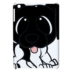Newfie Cartoon Black White Apple iPad Mini Hardshell Case