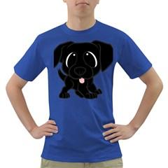 Newfie Cartoon Dark T Shirt