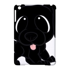 Newfie Cartoon Apple iPad Mini Hardshell Case (Compatible with Smart Cover)