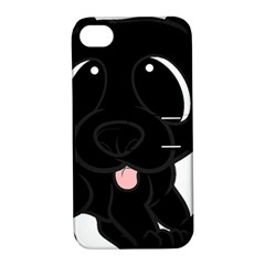 Newfie Cartoon Apple iPhone 4/4S Hardshell Case with Stand