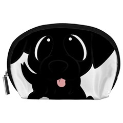 Newfie Cartoon Accessory Pouches (Large)