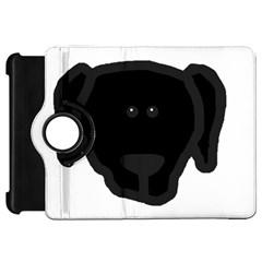 Newfie Dog Head Cartoon Kindle Fire HD 7