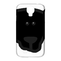 Newfie Dog Head Cartoon Samsung Galaxy S4 Classic Hardshell Case (PC+Silicone)