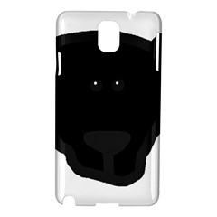 Newfie Dog Head Cartoon Samsung Galaxy Note 3 N9005 Hardshell Case