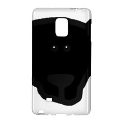 Newfie Dog Head Cartoon Galaxy Note Edge