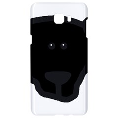 Newfie Dog Head Cartoon Samsung C9 Pro Hardshell Case