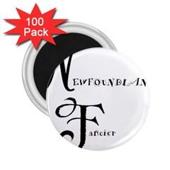 Newfie Fancier 2.25  Magnets (100 pack)