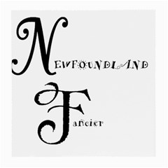 Newfie Fancier Medium Glasses Cloth