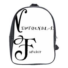 Newfie Fancier School Bags(Large)